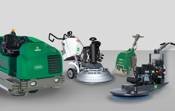 Selection of flooring solutions tools available for rent at Sunbelt Rentals