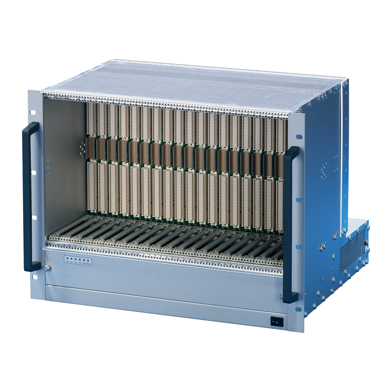 Image for VME64x-based systems 8 U, 21 slot, with rear I/O from nVent SCHROFF | Europe, Middle East, Africa and India