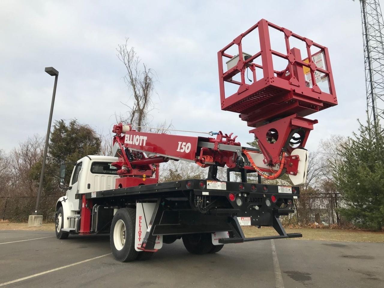 2016 Freightliner M2106 4x2 Elliott I50F Bucket Truck