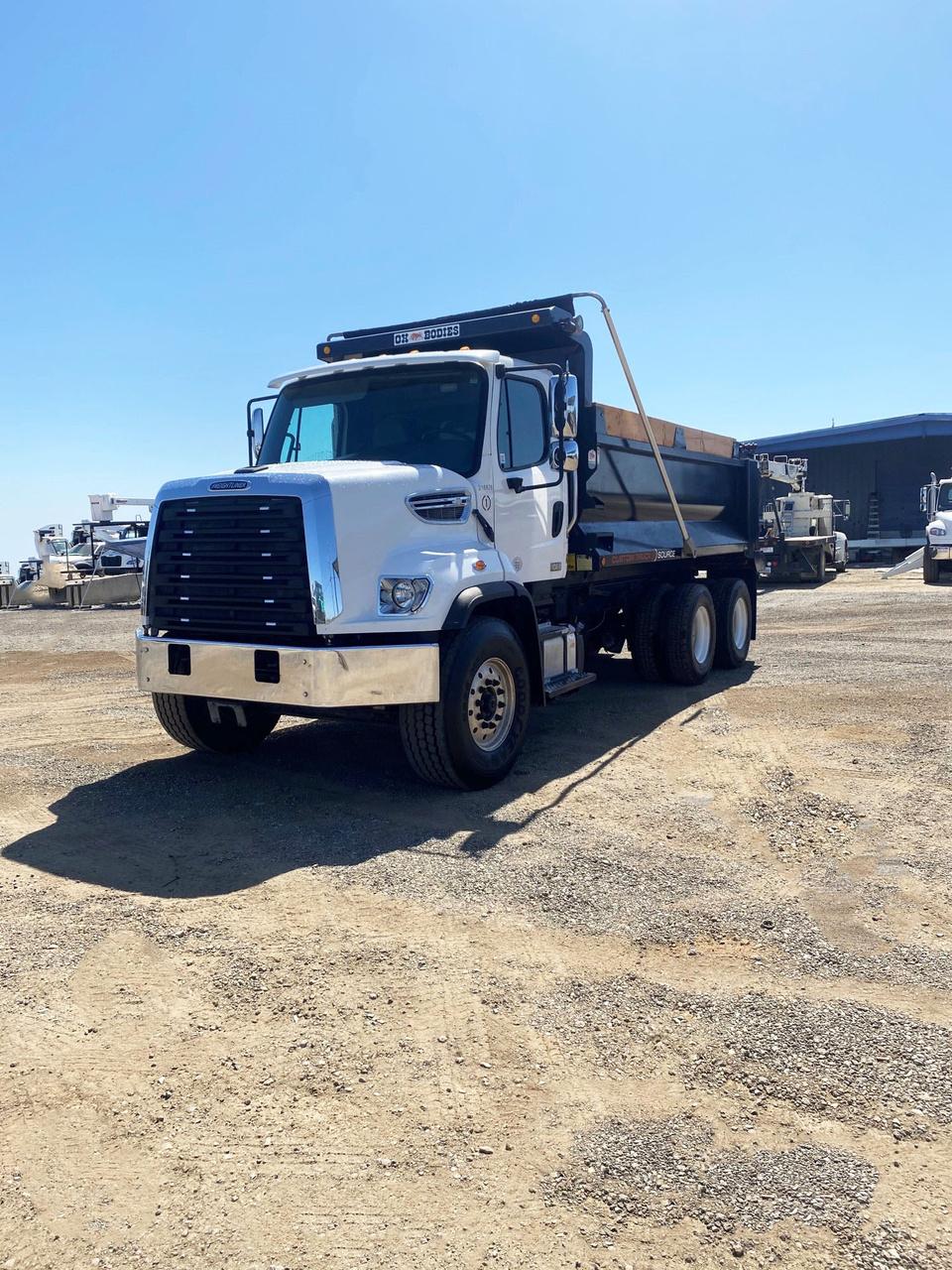 2016 Freightliner 108SD 6x4 Ox Stampede Dump Truck