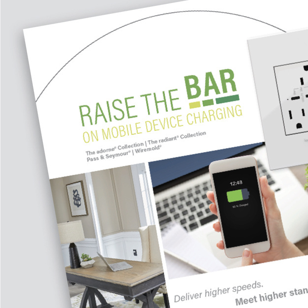 cover of raise the bar charging brochure