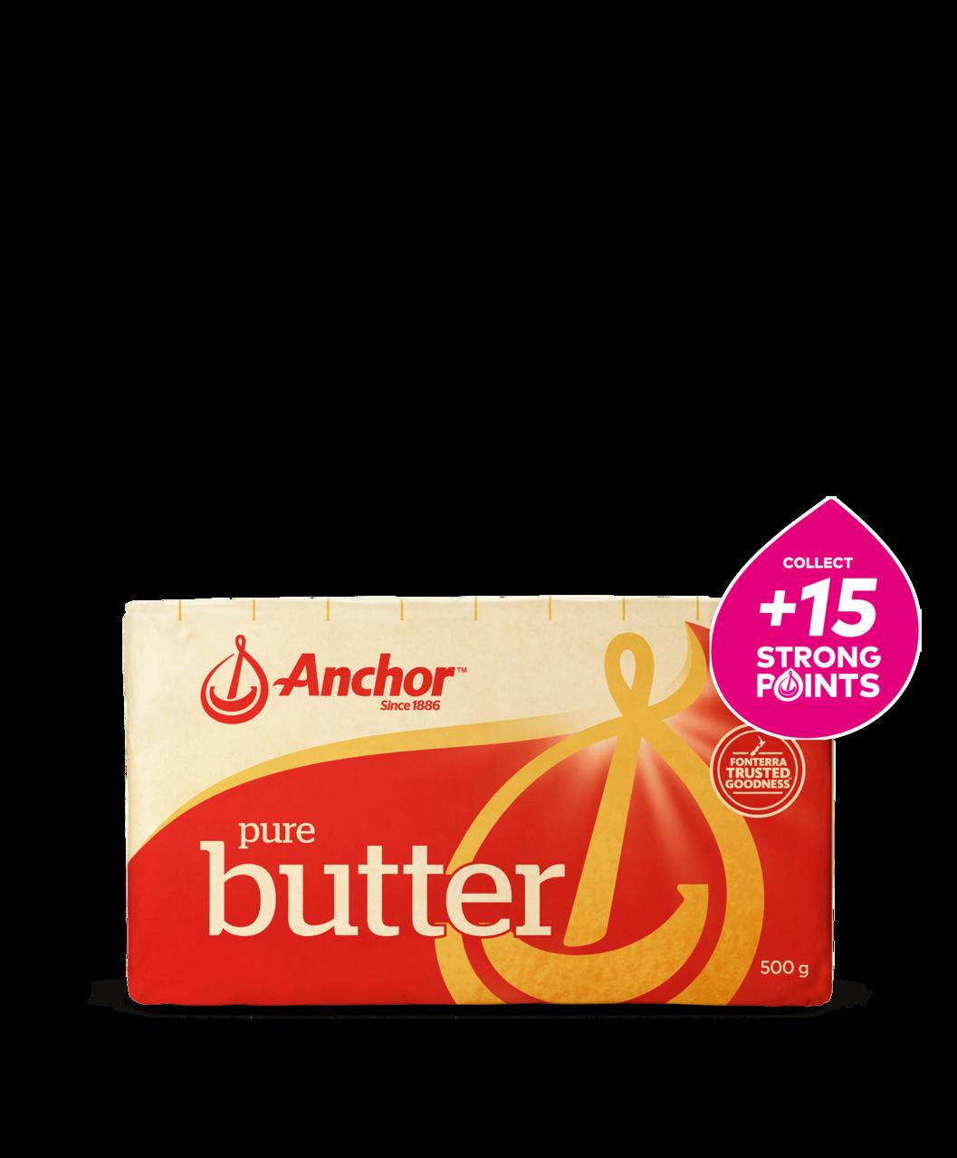 Anchor Salted Butter 500g block