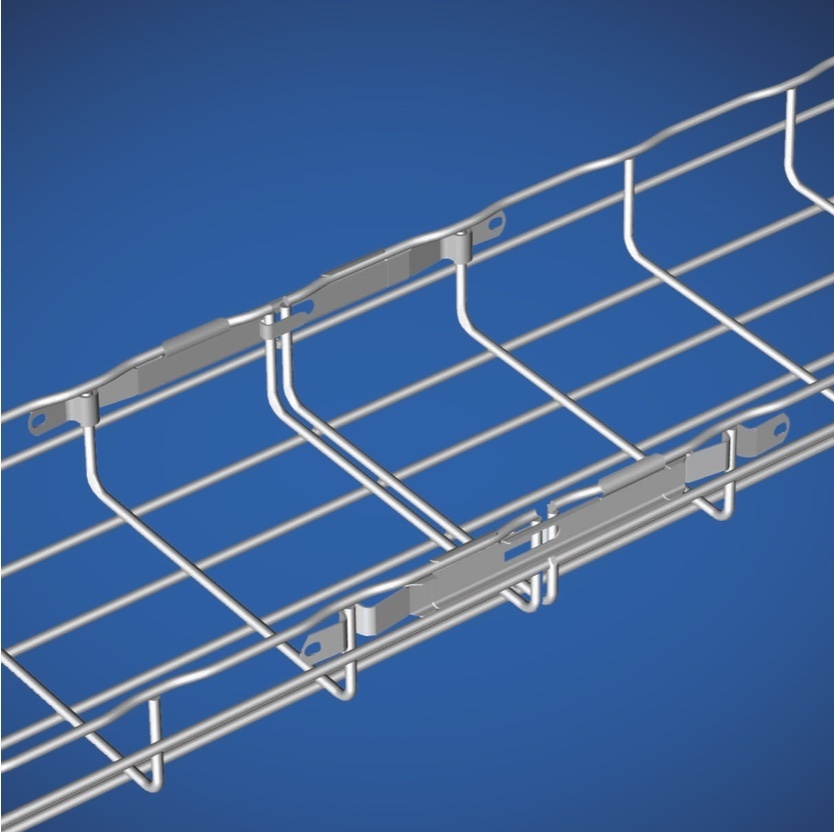 Cable tray rendering