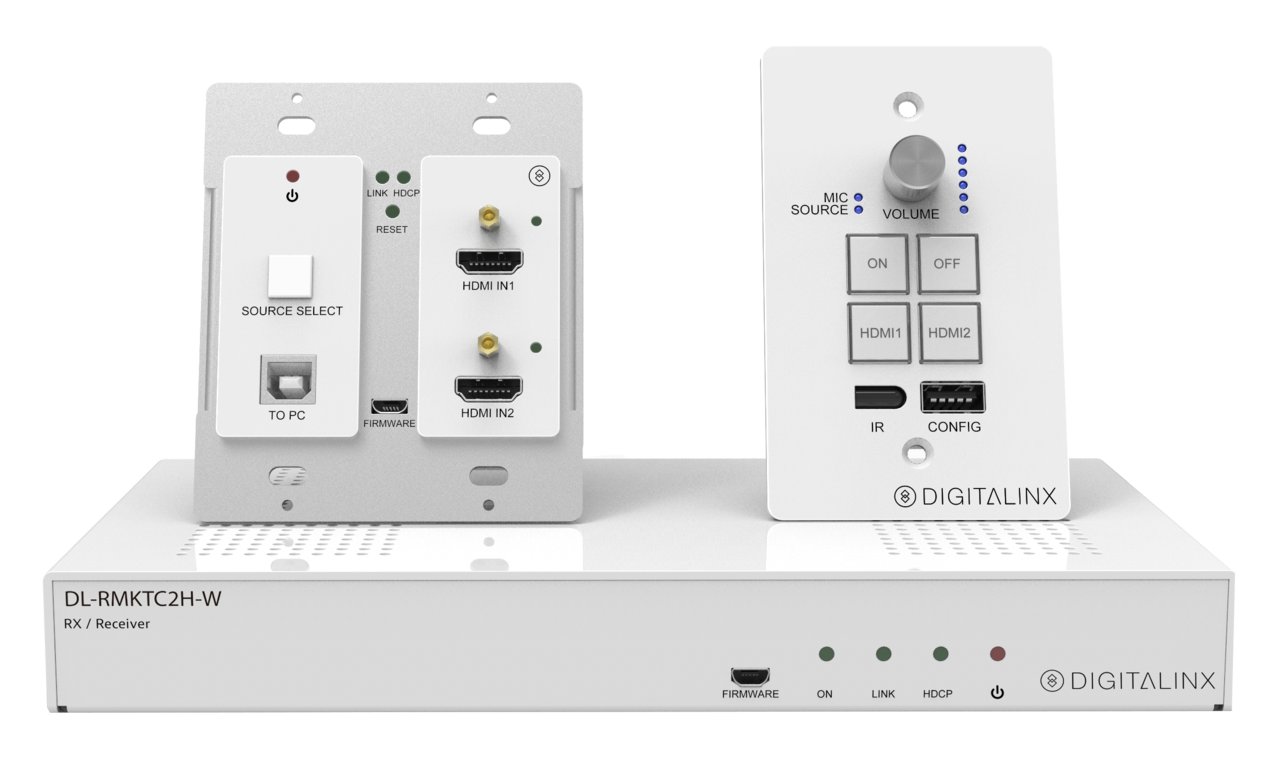 Dl Rmktc2h W Hdmi Usb 20 Extender And Keypad Control System Srcool12k Portable Ac Unit Wiring Diagram