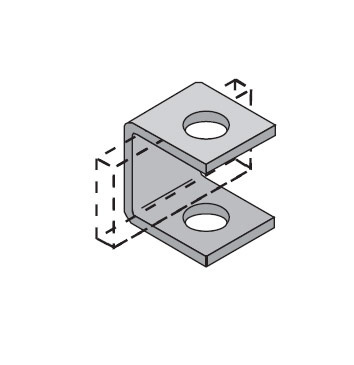 Side Rail Support Bracket, A838 / A839