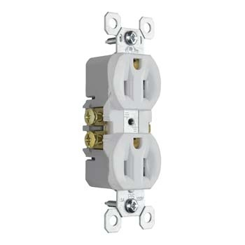 premium tamper resistant outlet 3232TR white