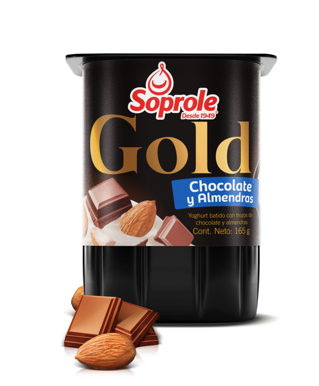 Soprole Gold Yoghurt Chocolate Almendras