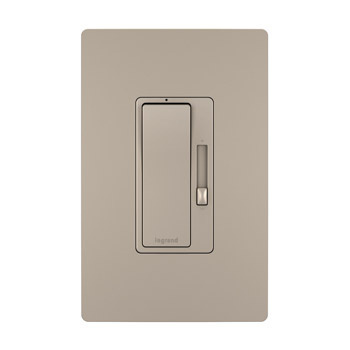 120V CFL/LED Dimmer, Nickel