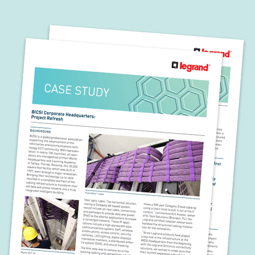 BICSI World Headquarters Case Study