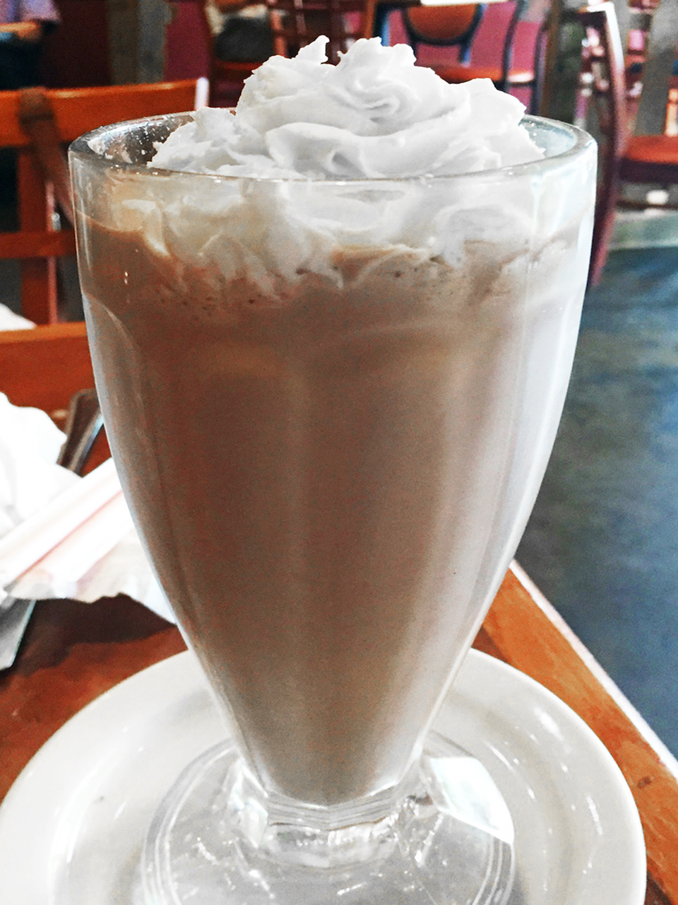 The peanut butter and chocolate shake at Cafe Eclectic is a favorite.