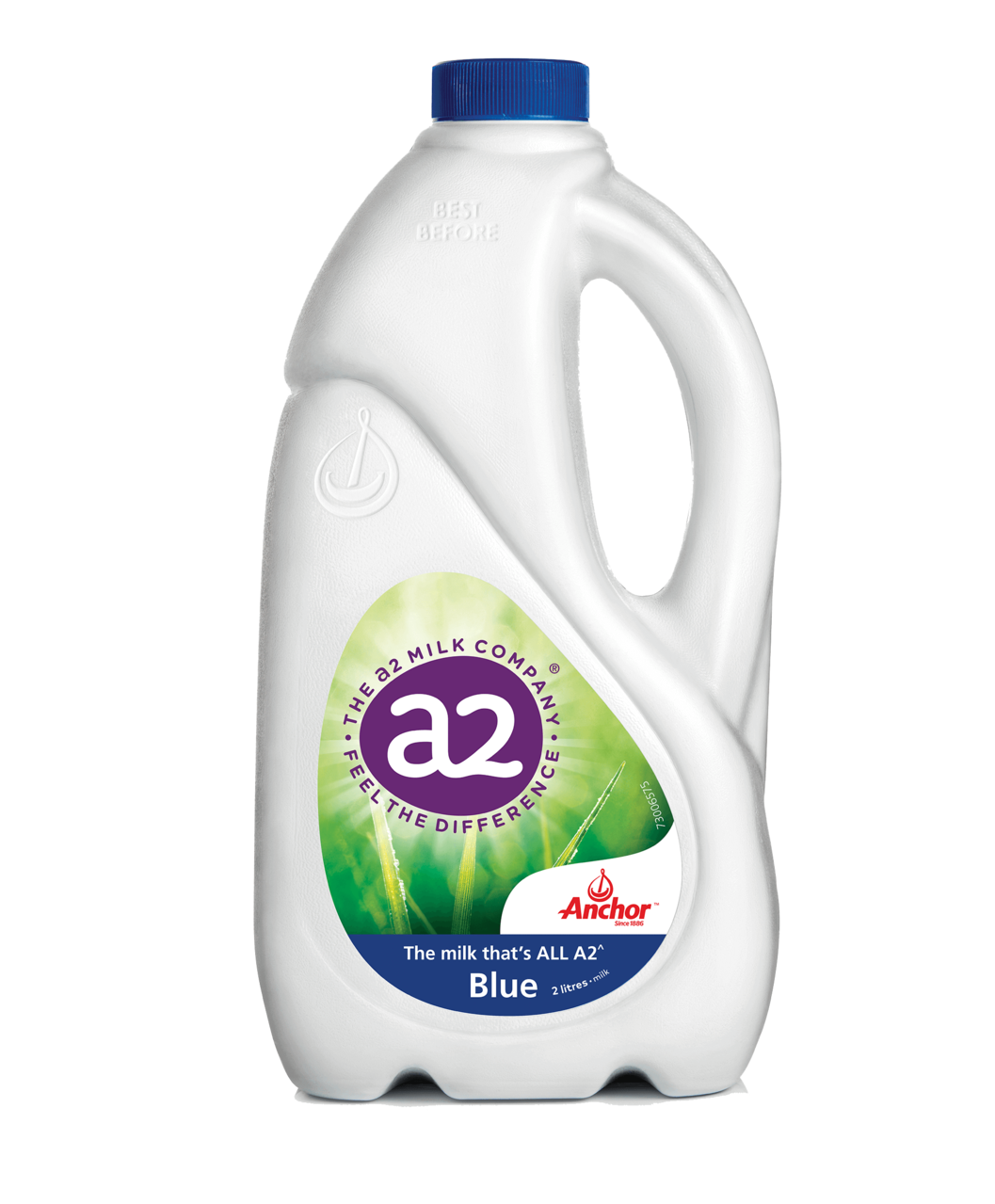 Anchor Blue Top Milk 2L bottle