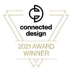 Connected Design 2021 Award Winner logo