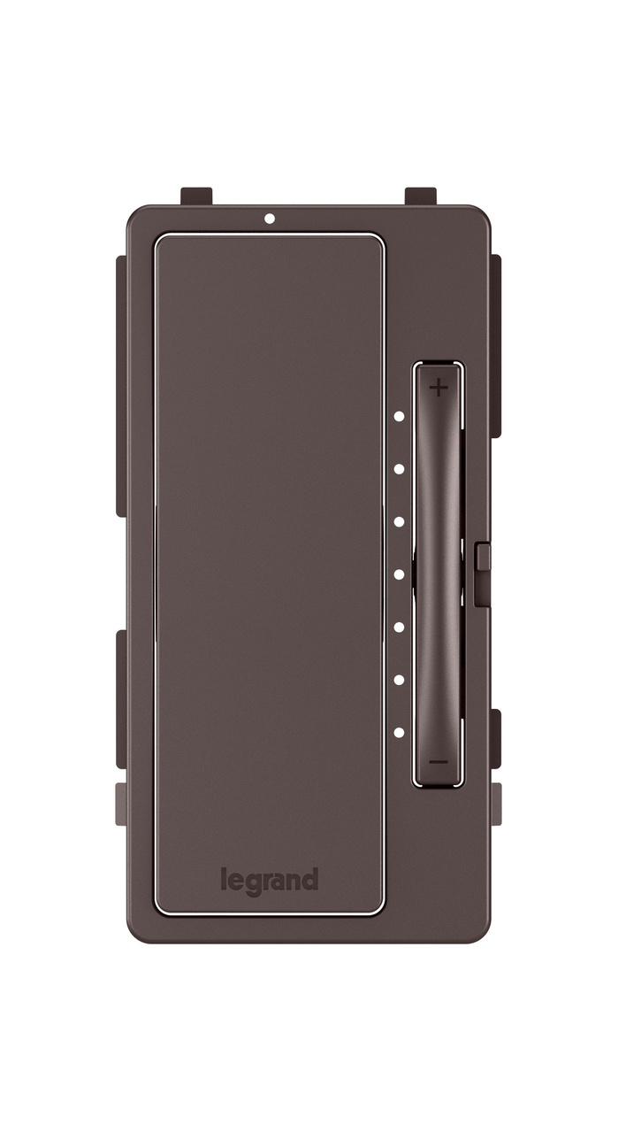 Interchangeable Face Cover for Multi-Location Master Dimmer, Dark Bronze