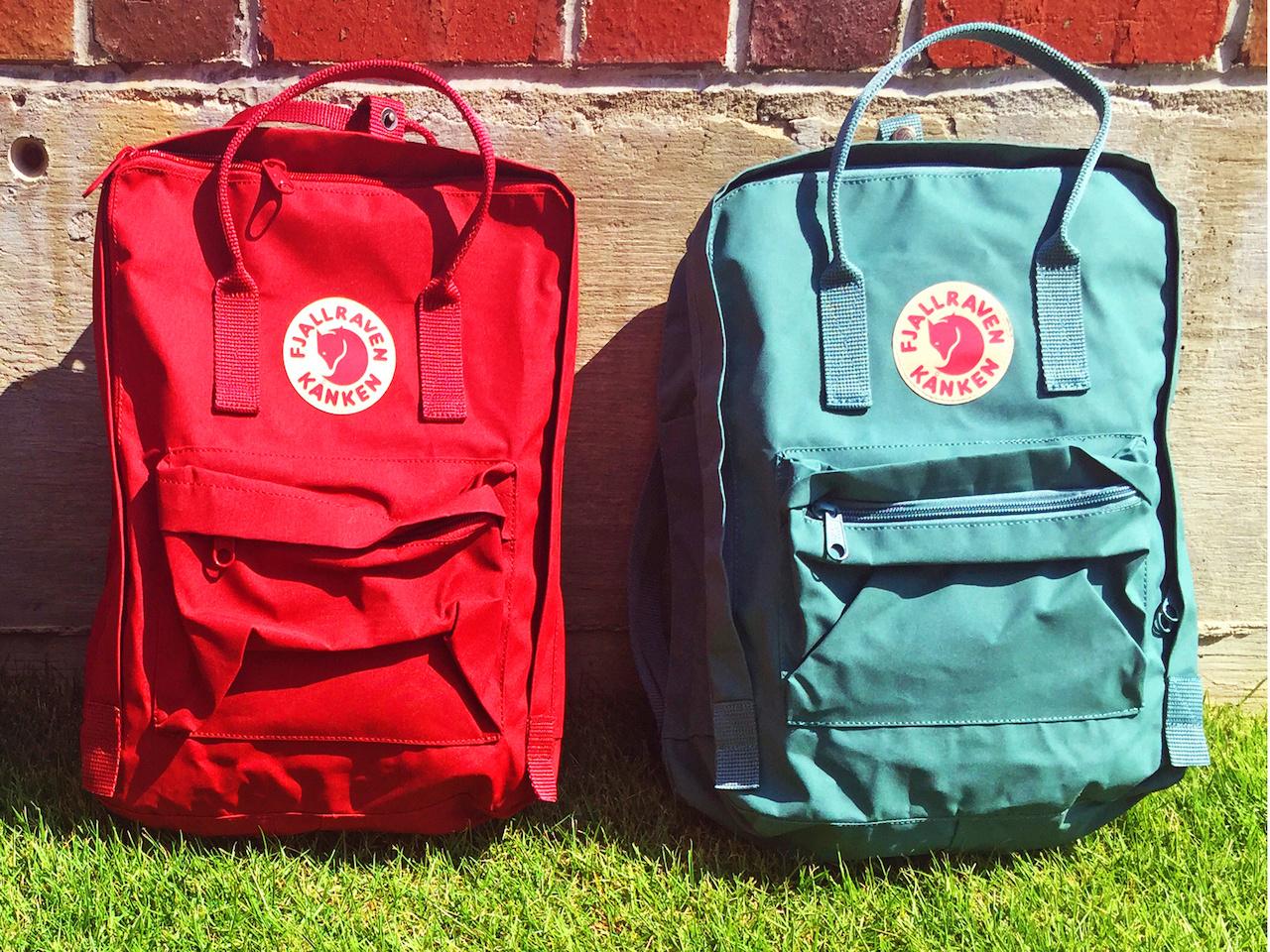 FjallRaven's Kanken backpack, $75, at Alabama Outdoors