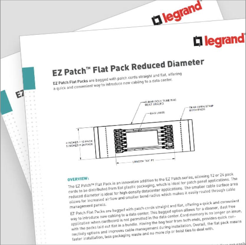 EZ Patch Flat Pack Reduced Diameter
