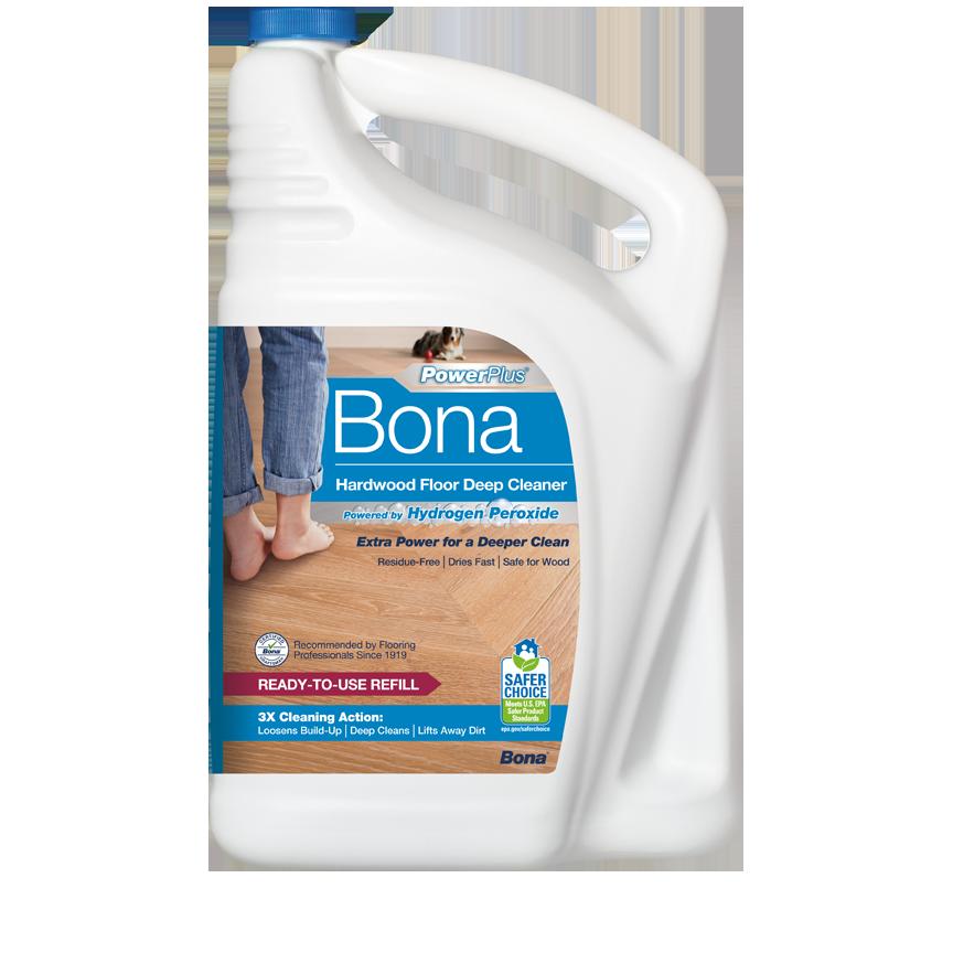 Bona PowerPlus® Hardwood Floor Deep Cleaner Refill (3.78L/128 oz) (4.73L/160oz)