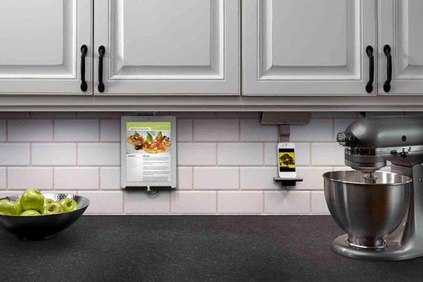 Adorne under cabinet lighting system in kitchen