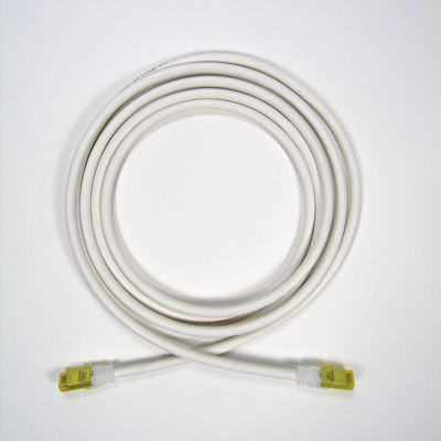 Clarity 10G modular patch cord, 9', white, OR-MC61009-09