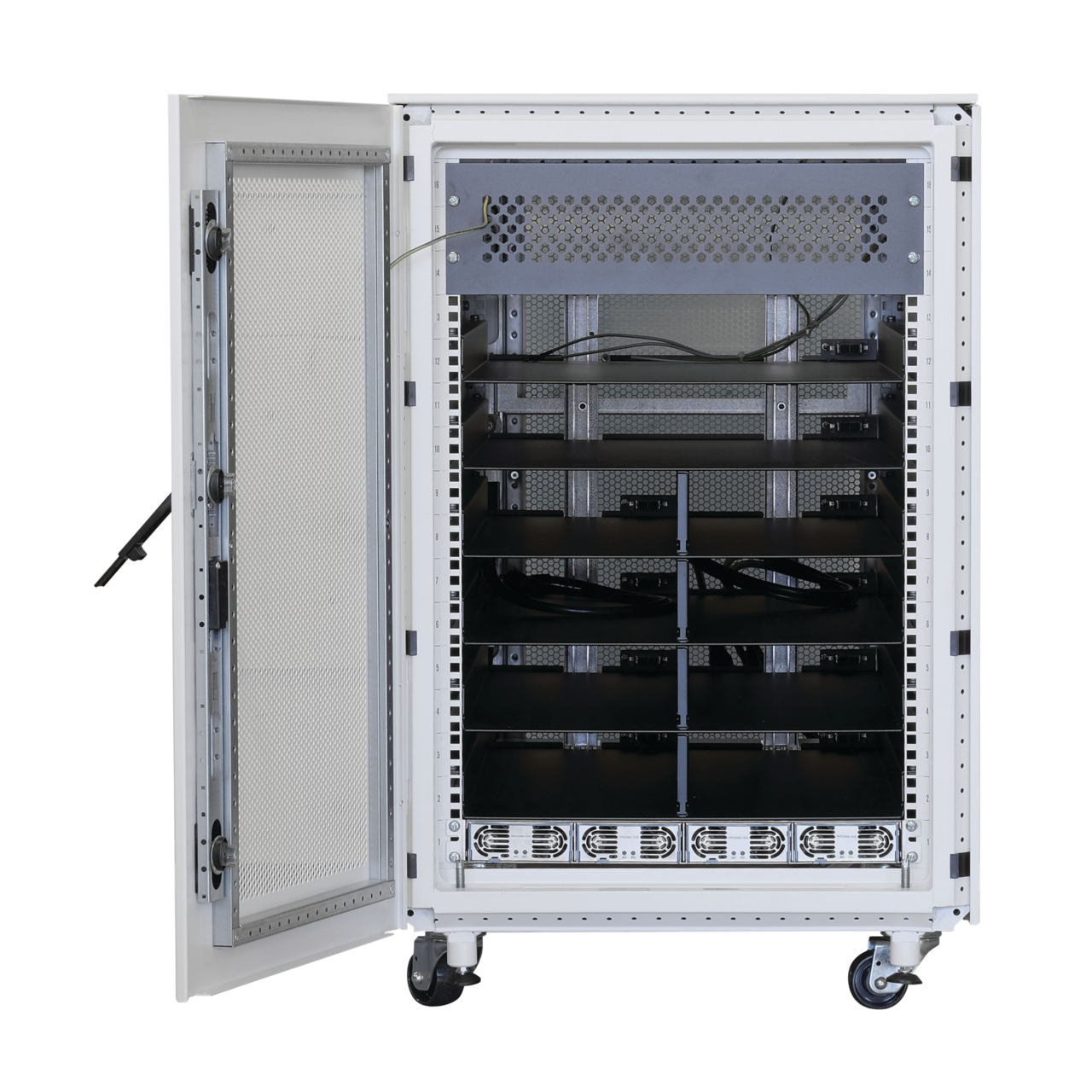 Image for ServCite Rack, 16 U from Schroff - North America