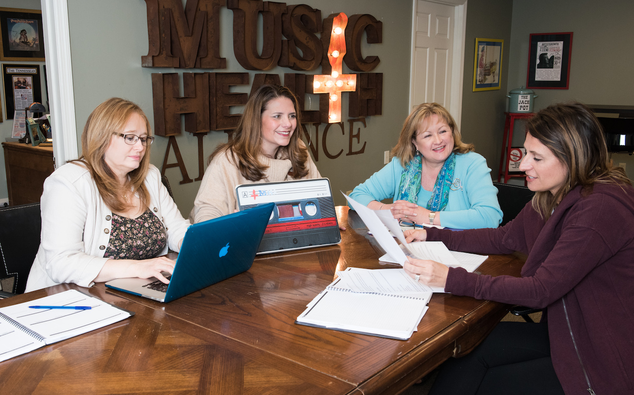 The women of Music Health Alliance