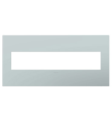 adorne 5-Gang Pale Blue Wall Plate