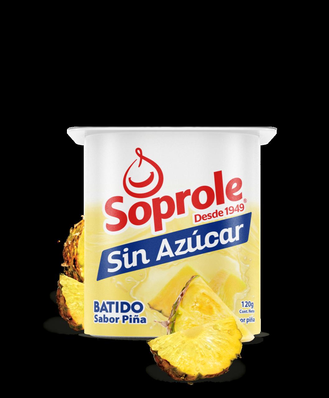 Soprole Yoghurt Batido Light sabor piña