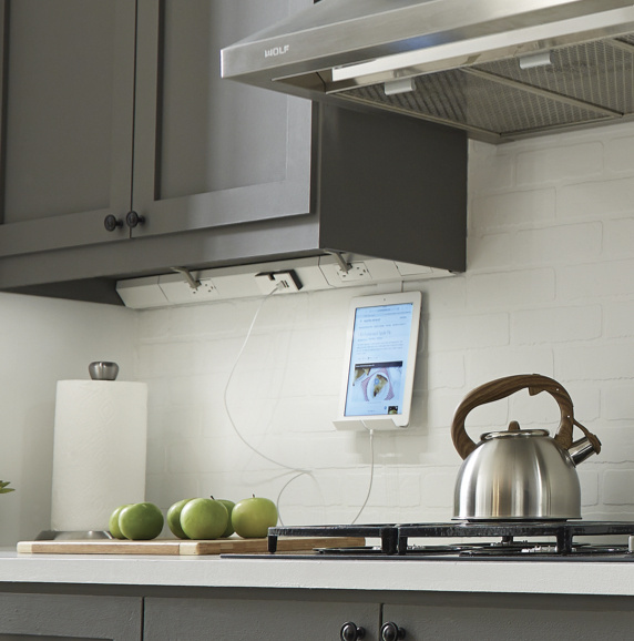adorne under cabinet lighting in modern kitchen