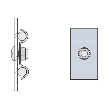 Ground Wire Attachment Clamp