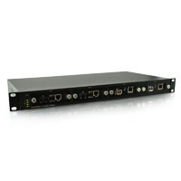 19 in. 4 Port AC Power Converter Chassis