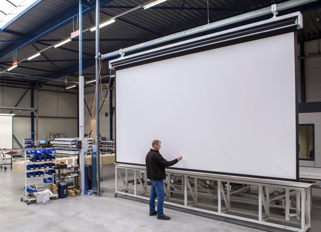 Mobile image of Project Projection Screen Academy