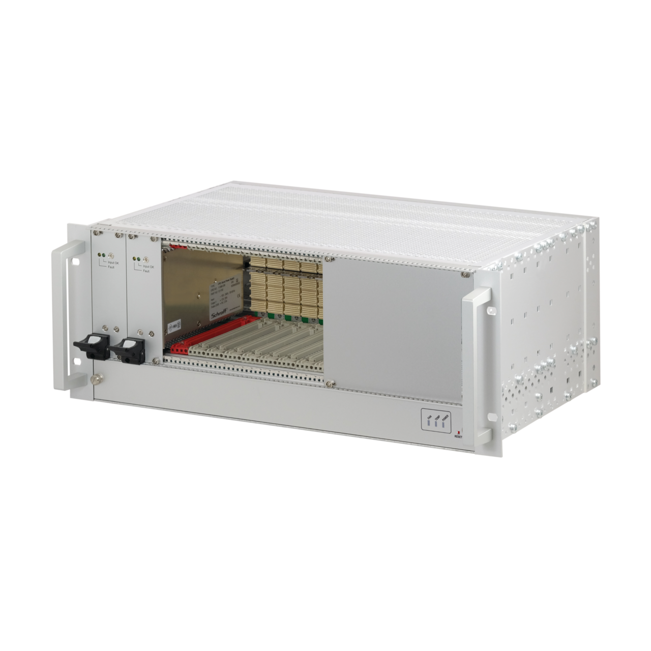 Image for CompactPCI Serial, 4 U, with/without rear I/O, with 19