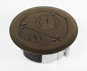 6FF_AFB w/Evolution Round Furniture Feed Cover