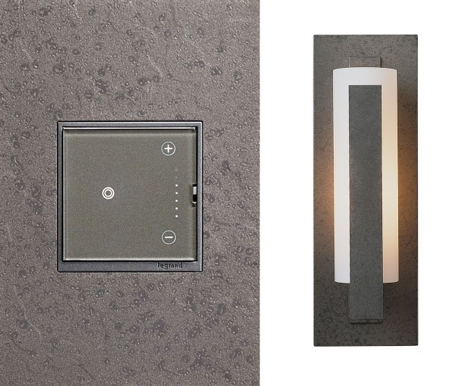 adorne Hubbardton Forge Iron Wall Plate