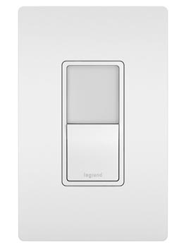 Night Light with Single-Pole, 3-Way Switch, White