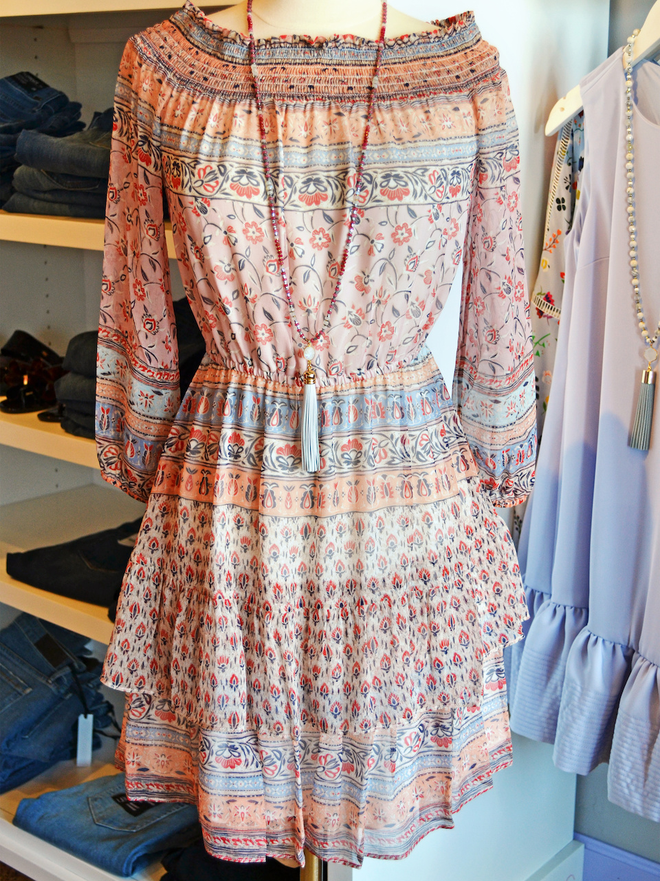 Great flowy boho dress by Shoshanna for Forecastle