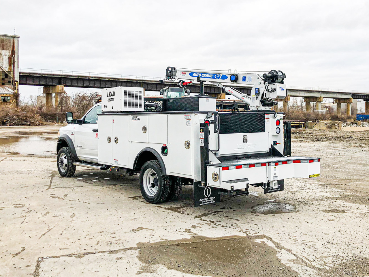 Load King Voyager 1 (HC7) ServiceTruck+Crane On 2019 Dodge