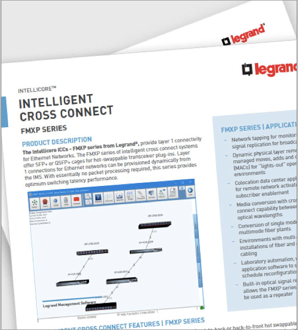 Intellicore FMXP Intelligent Cross Connect Resource