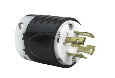 pass and seymour legrand 2877 L1730-P Locking Rubber male Plug