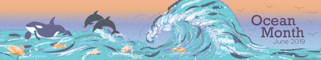NOAA Ocean Month Banner