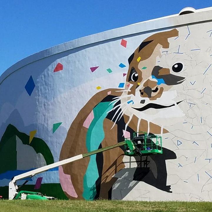 Winston Salem Mural