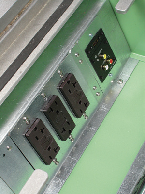 Loaded with P&S Receptacles and Extron Devices