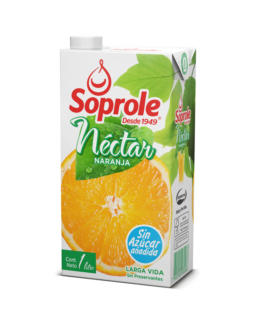 Soprole Néctar Naranja 1L