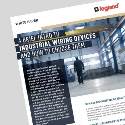 Industrial Wiring Devices Whitepaper