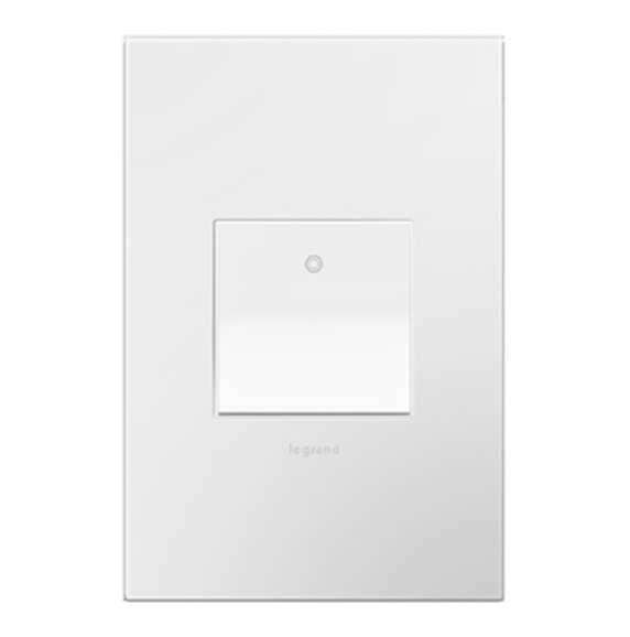 adorne white switch with white wall plate