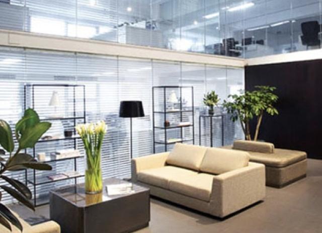 College Professor office space