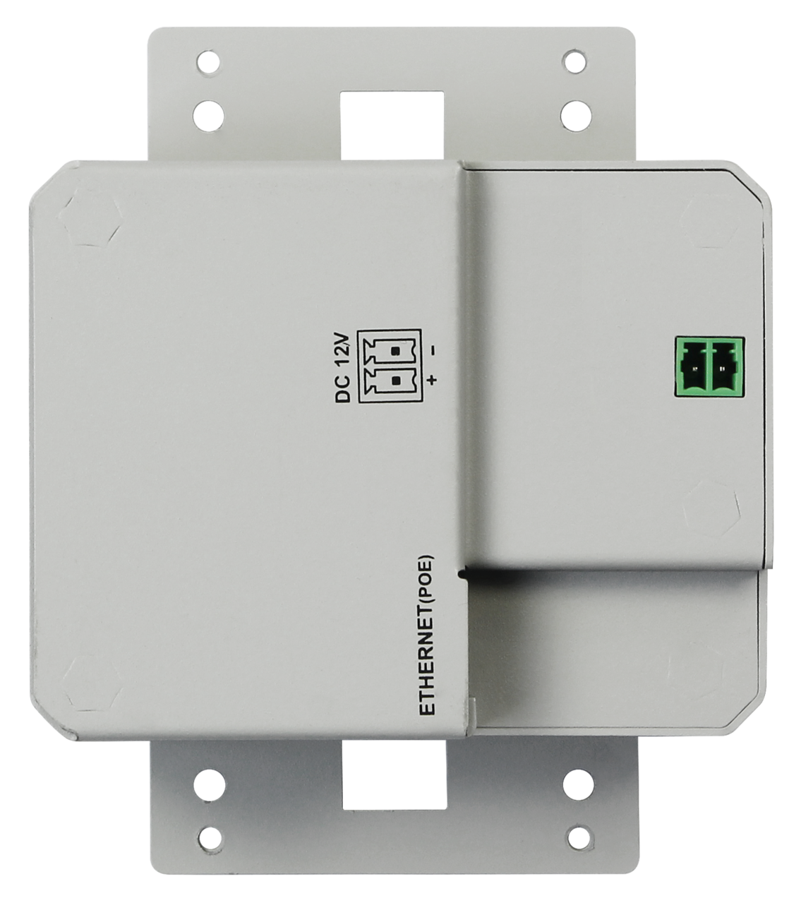 IPEX5001-WP-W - DigitalinxIP 5000 Series AV Over IP HDMI / VGA auto Switching Wall Plate Encoder