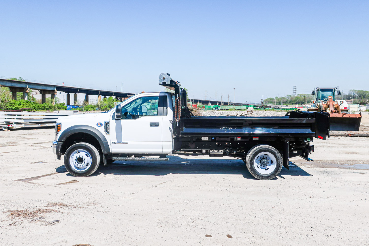 2019 Ford F550 4x2 Knapheide KDBDS112 Dump Truck