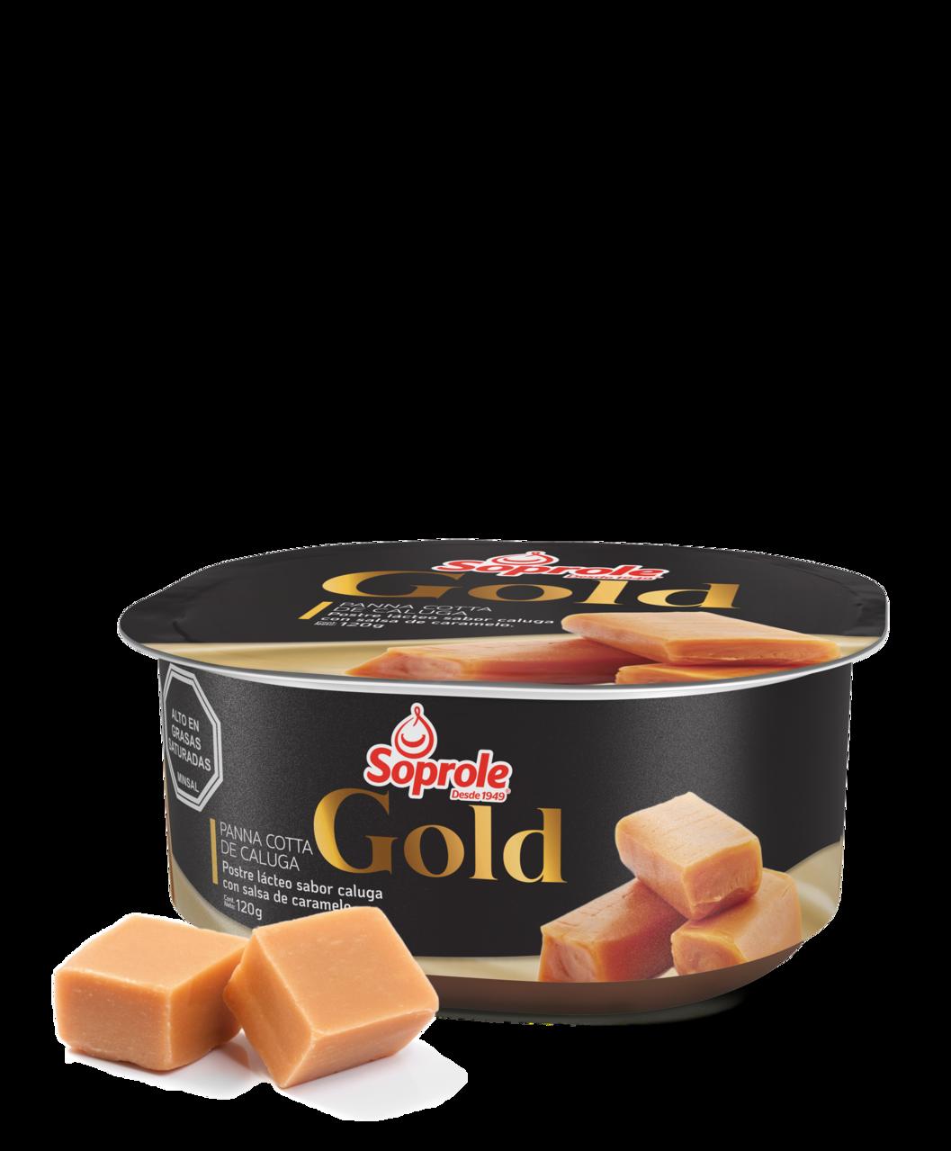 Soprole Gold panna cotta de caluga