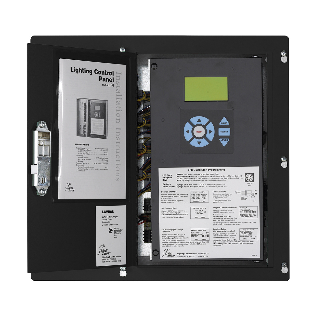 LP24 Panel 4 Relay115/277 Flush