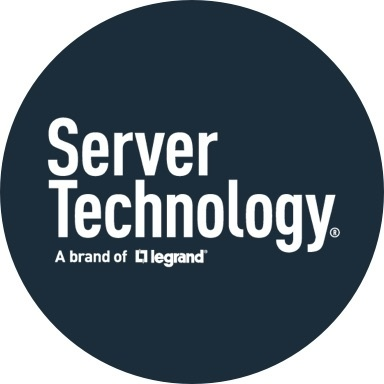 Server Technology logo with navy blue background